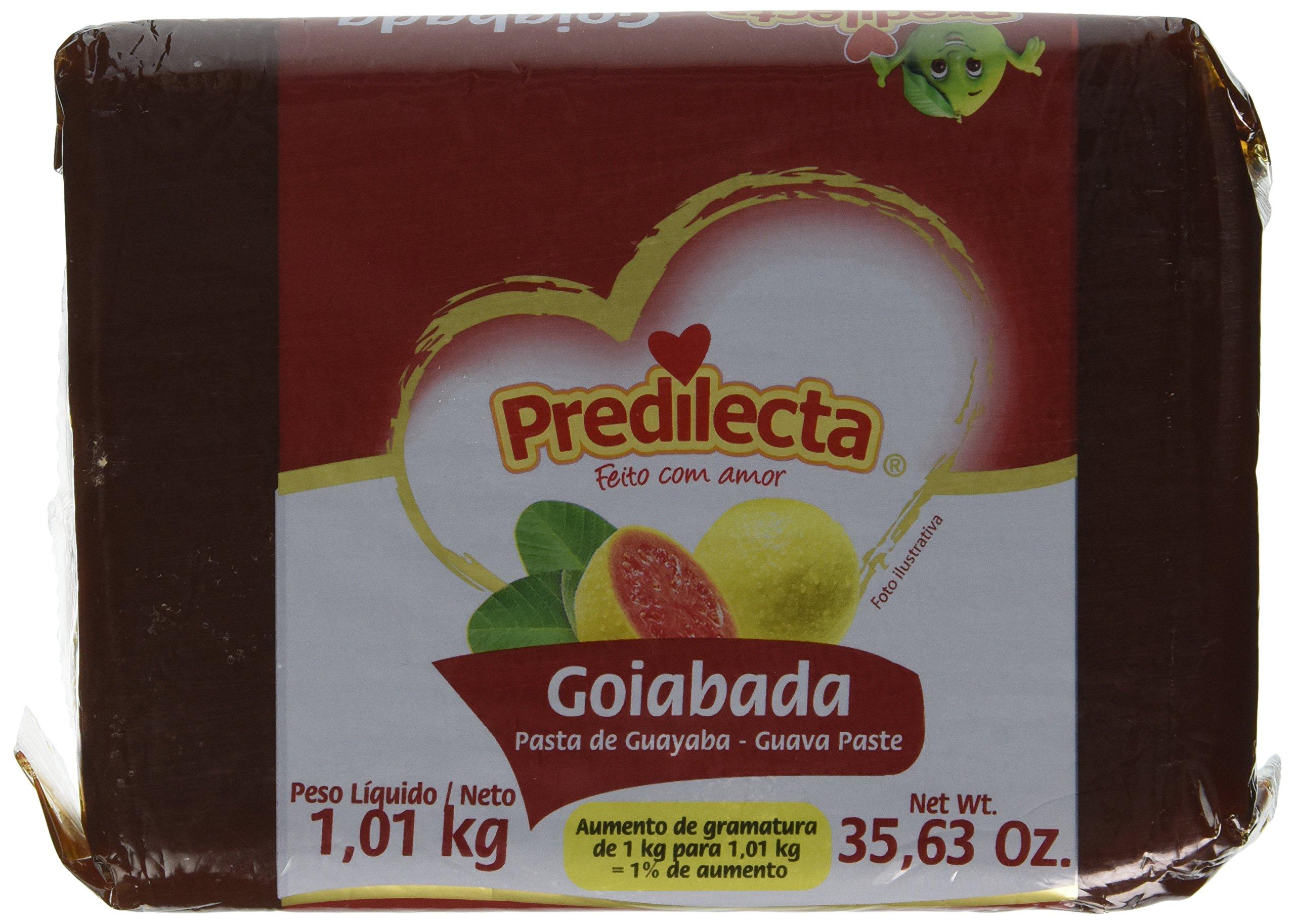 Predilecta Guava Paste - 35.27oz | Goiabada Predilecta - 1kg - (PACK OF 02)