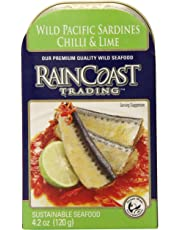 Raincoast Trading Chili & Lime Sardines (Case of 12 cans)