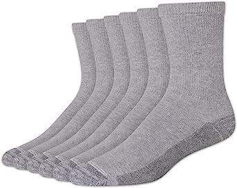 Hanes mens 6pk Sport Cuts Crew Socks