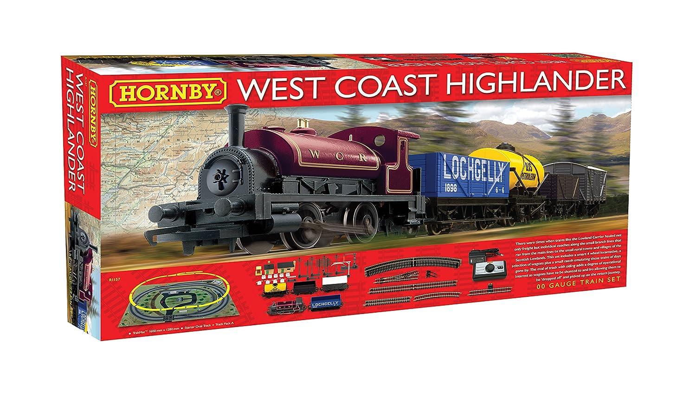 Hornby R1157 West Coast Highlander Train Set Model