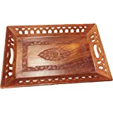 Father's Day Unique Gift Items Wooden decorative trays coffee tray,decorative trays, fruit table Full K/W Rect.Shape, 15X10 ,