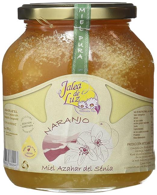 Jalea de Luz Miel Cruda Pura de Azahar - 950 gr.: Amazon.es ...