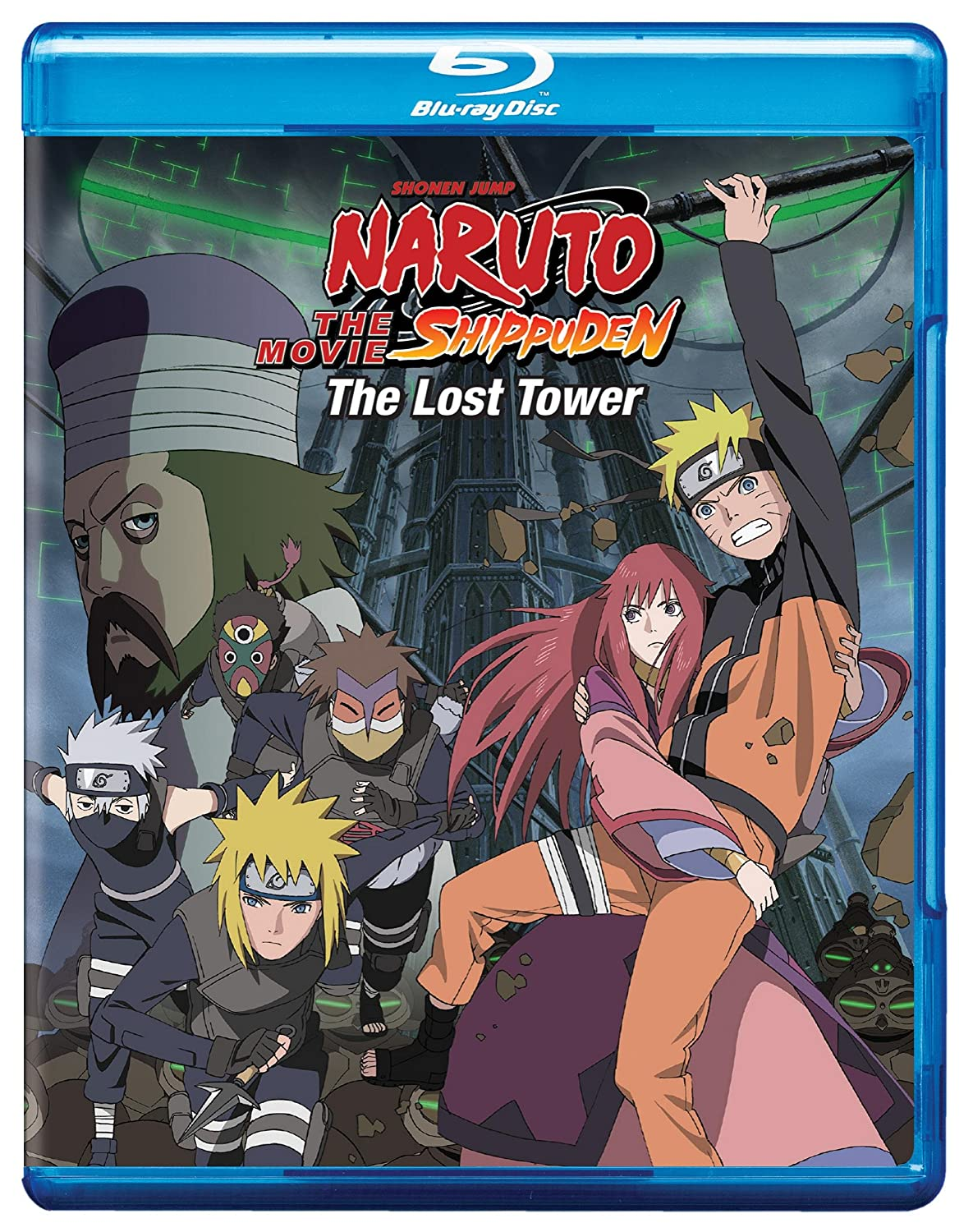 Amazon com naruto shippuden the movie the lost tower bd blu ray various movies tv