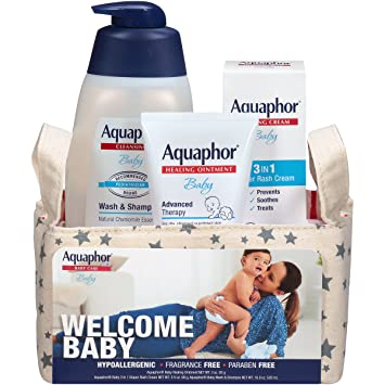 Amazoncom Aquaphor Baby Welcome Gift Set Value Size Pediatrician