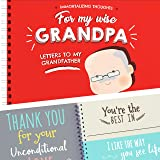 Letters To My Grandpa & 16 reasons Why I Love You Grandad. Paste Photos & Write Beautiful Things to Your Grandfather. Unique Gift for Grandpa, it's a special present! + Stickers Included