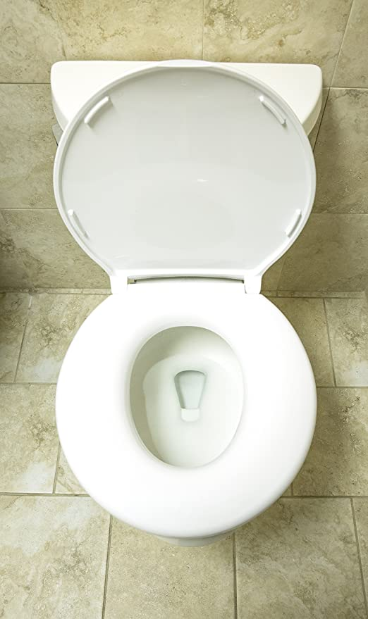 1. Big John 6-W Oversized Toilet Seat with Cover