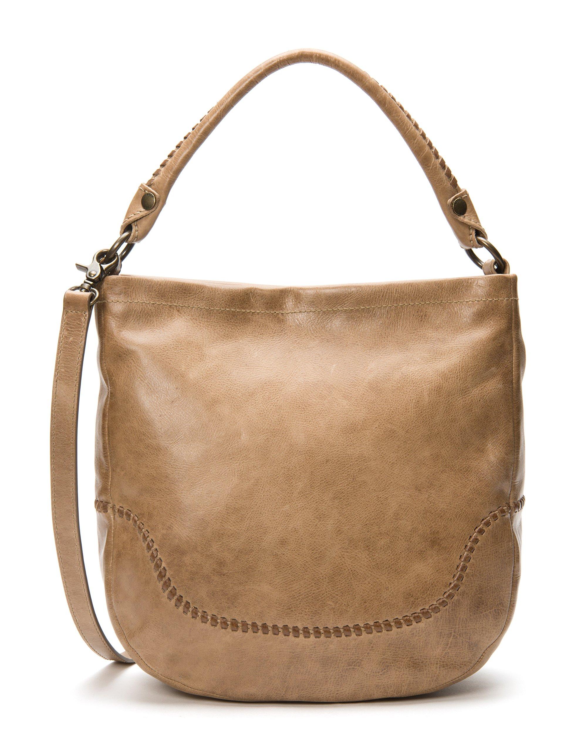 FRYE Melissa Whipstitch Hobo Shoulder Bag, Dark Taupe