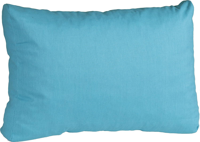 Beo Loungekissen 60 x 40 cm Rückenkissen für Rattan Gartenmöbel in türkis