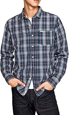 Pepe Jeans Camisa Corbett Azul XL Azul: Amazon.es: Ropa y ...
