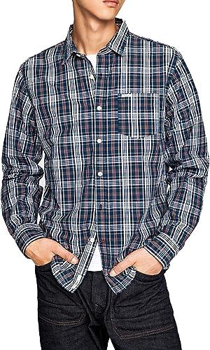 Pepe Jeans Camisa Corbett Azul XL Azul: Amazon.es: Ropa y accesorios