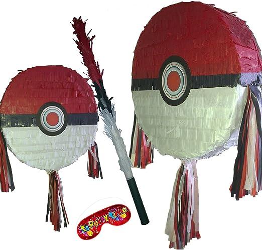 Pinata Pokeball avec 100 bonbons