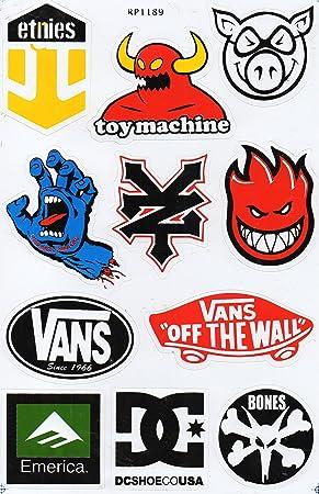 Underground Graphix - Hoja de pegatinas para skateboard, diseño de ...