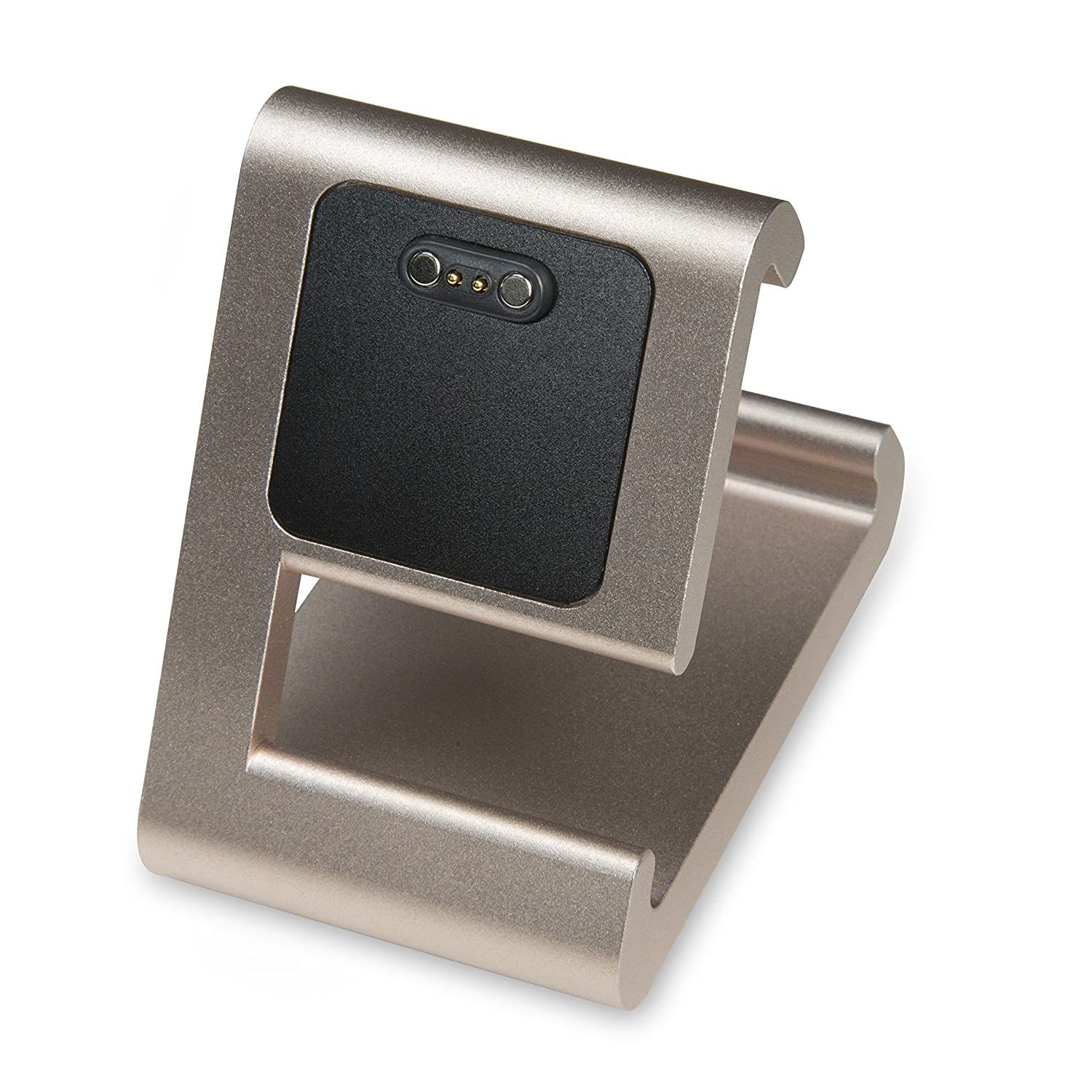 TimeDock - Charging Dock for Pebble Time, Pebble Time Steel, & Pebble Time Round (Gold)