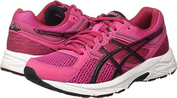 Asics Gel-Contend 3, Zapatillas de Gimnasia para Mujer, Rosa (Sport Pink/Black/Cerise), 37 1/2 EU: Amazon.es: Zapatos y complementos