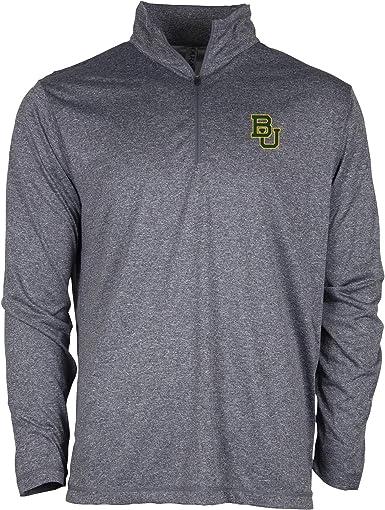 Medium Athletic Heather Ouray Sportswear NCAA Texas Tech Red Raiders Mens Confluence 1//4 Zip Top