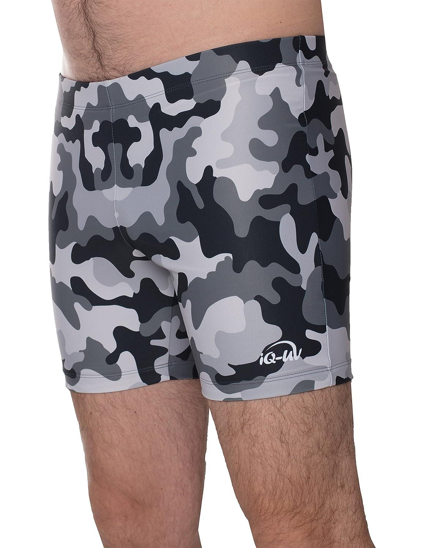 iQ-UV Hombre UV Pantalones Cortos Colorido Bañador