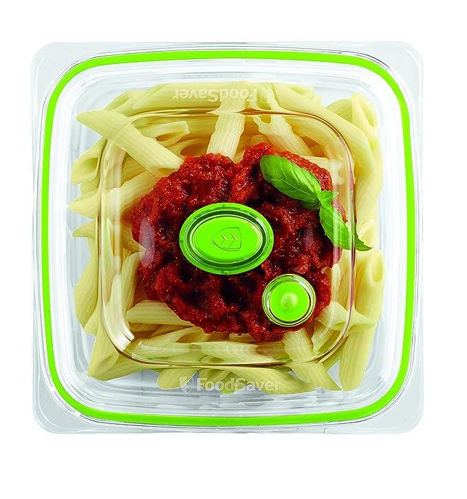Foodsaver FFC003X Recipiente para envasar al vacío, 700 ml, 0.7 ...