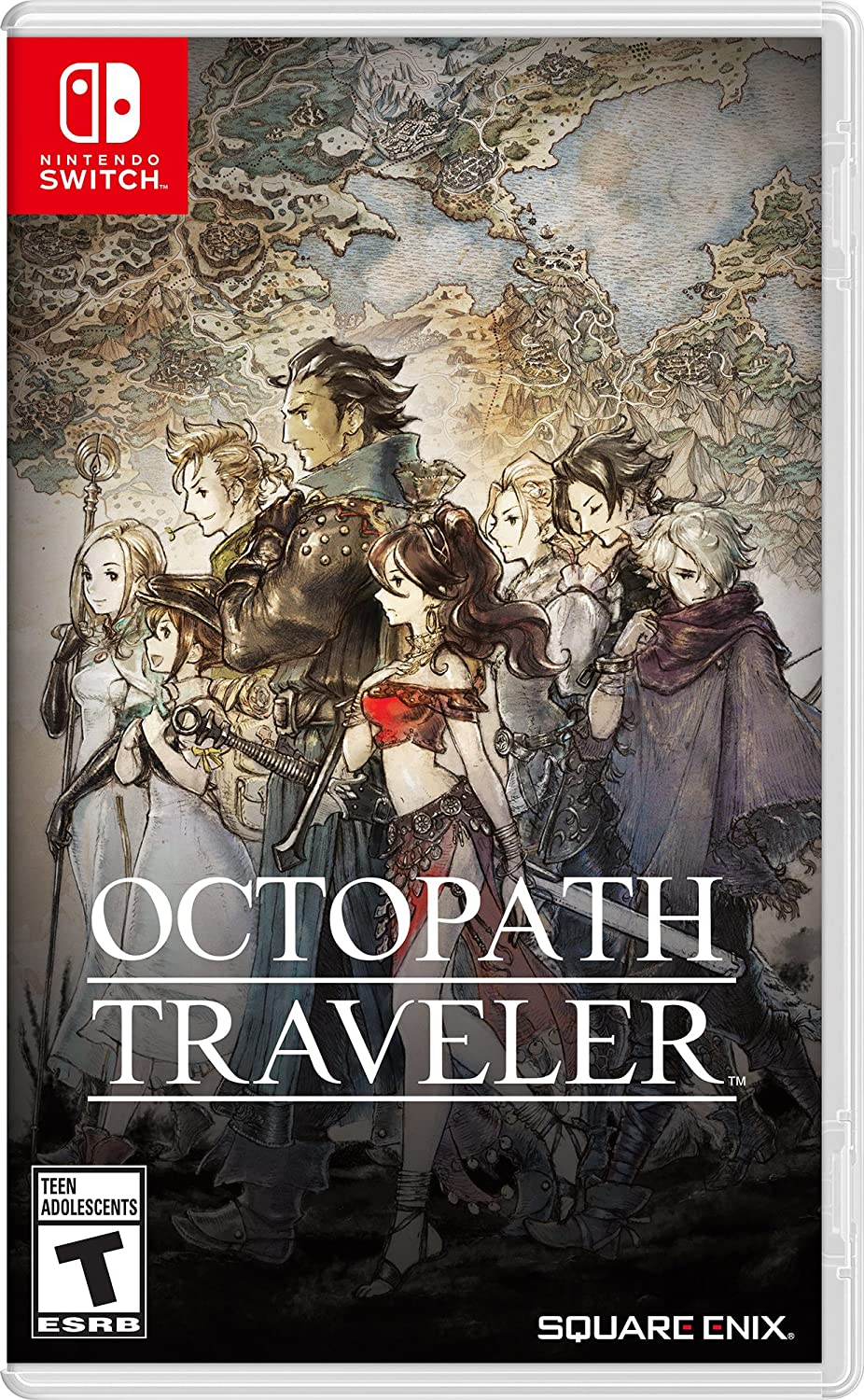 Octopath Traveler Nintendo Switch Of America 3 Way No Video Games
