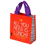 Happy Jackson All You Need is Lunch Tote, Red