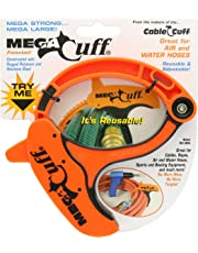 Cable Cuff Mega Cuff - Single Extra Large Reusable Serrated Cable Organizer - 6 Inches