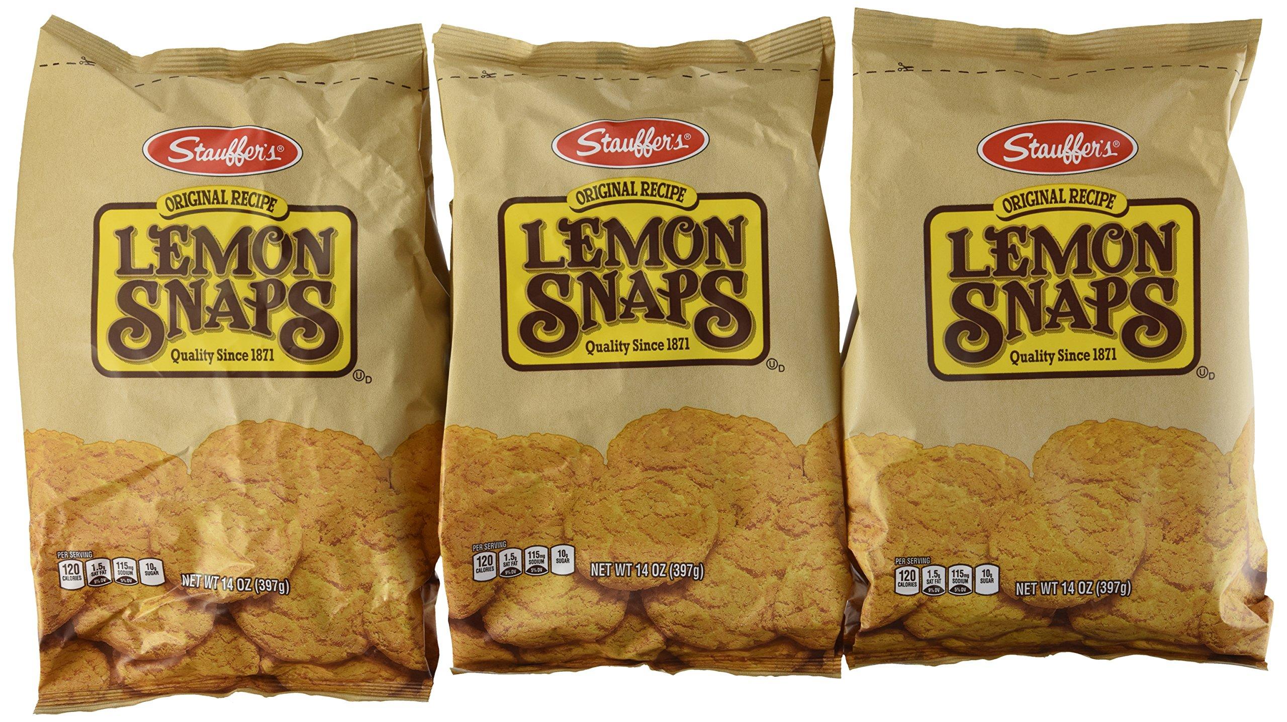 Stauffer's Lemon Snaps Cookies - [3 Pack] by Stauffer's