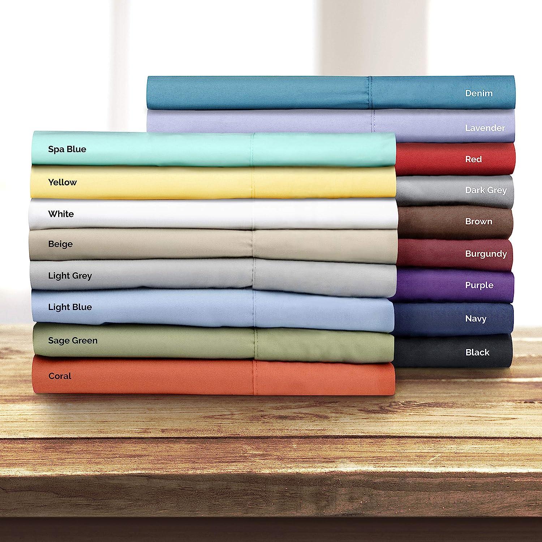 Flat Sheet Only California King Size Flat Sheet Flat Sheet for California King Mattress 1 Flat Sheet Only Flat Sheet Deep Pocket Softer Than Cotton Single Flat Sheet Cali King
