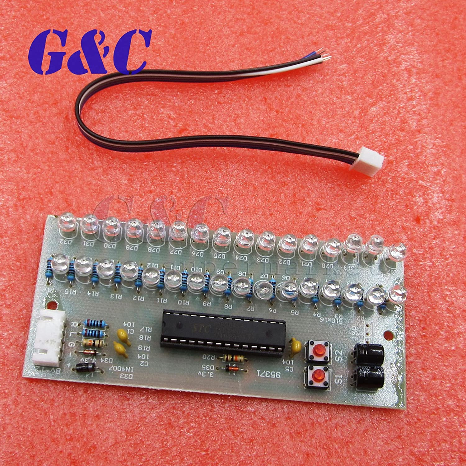 Ast Works Green Mcu Meter Level Indicator Module Vu Board 16 Led Lm3915 Not Working Properly Electrical Engineering Dual Channel Car Motorbike