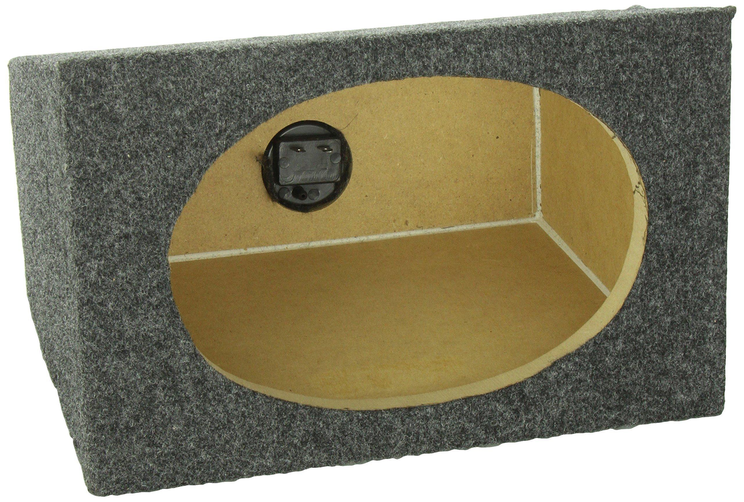 Q Power Pair 6'' x 9'' Unloaded Speaker Boxes