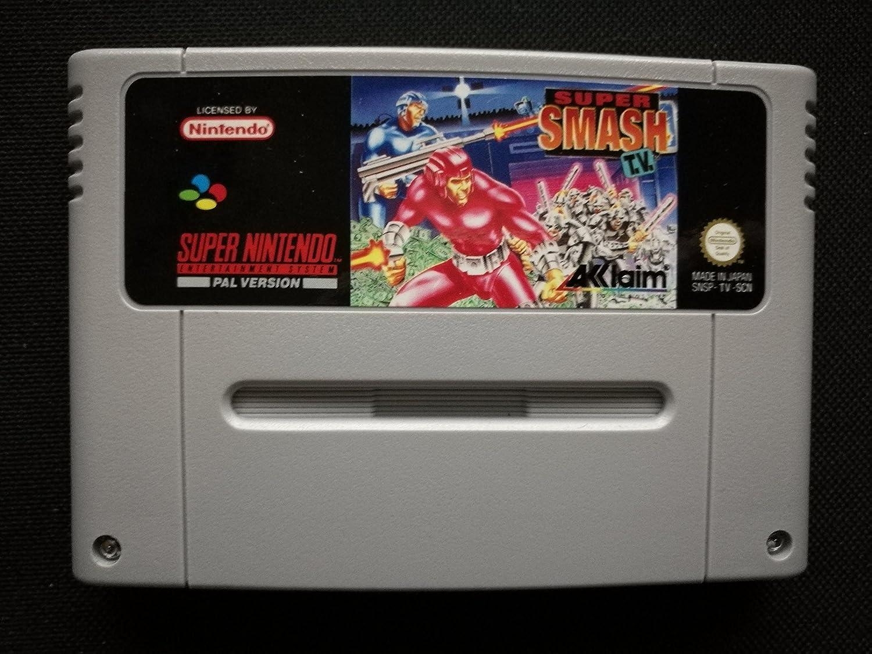 Amazon.com: Super Smash TV - Nintendo Super NES: Super ...