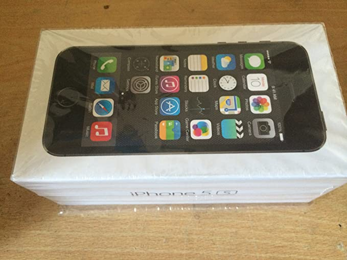 b98aa19d60e0ce Image Unavailable. Image not available for. Colour: Apple iPhone 5S 16GB  Smartphone - EE - Space Grey ...
