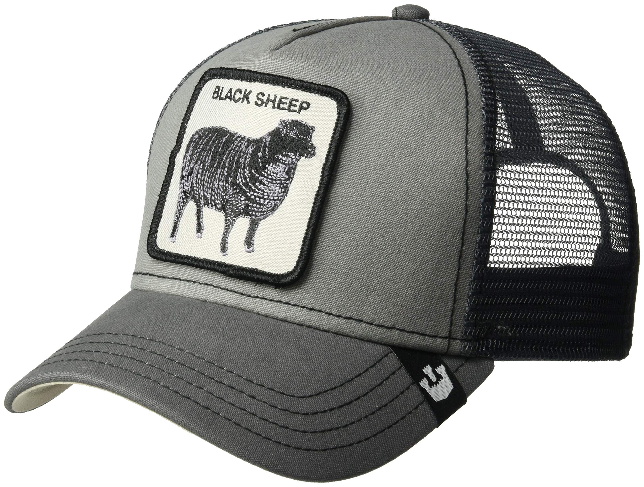 Goorin Bros. Men's Animal Farm Snap Back Trucker Hat, Gray Sheep One Size