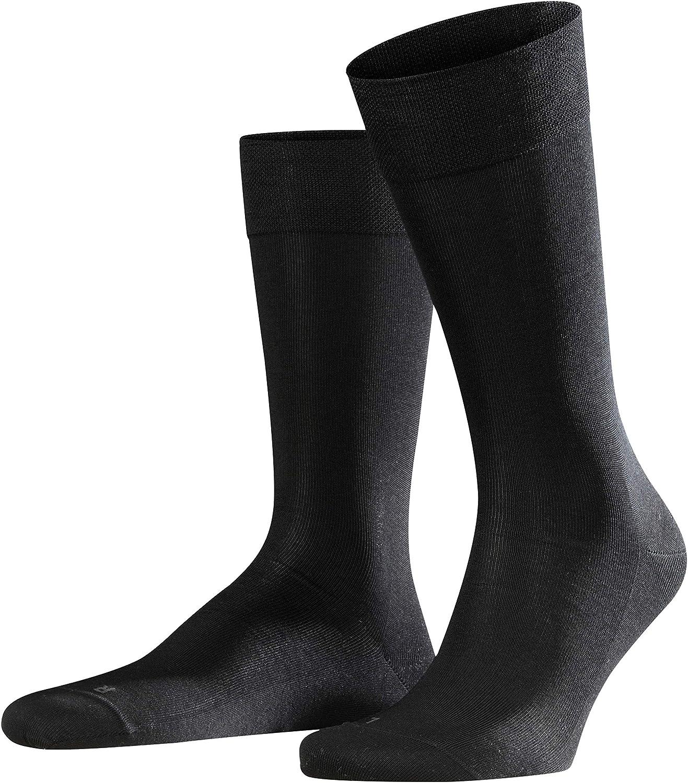FALKE Mens Sensitive Malaga Dress Sock - 96% Cotton, Multiple Colors, US sizes 6.5 to 15, 1 Pair