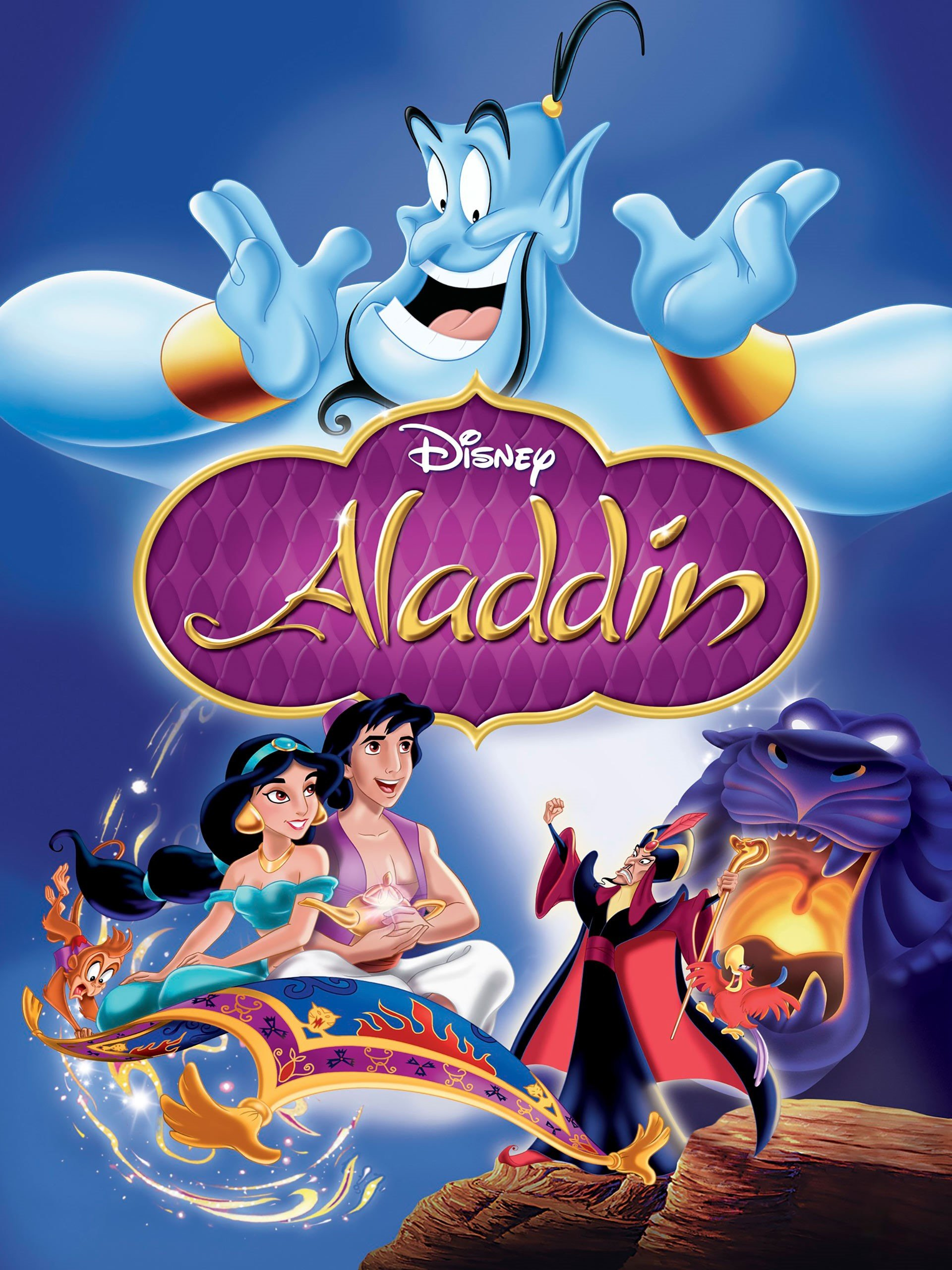 Amazon.com: Aladdin (Plus Bonus Features): Scott Weinger, Robin ...