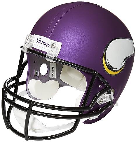 save off 54277 e5684 Riddell NFL Minnesota Vikings Deluxe Replica Helmet, Full ...