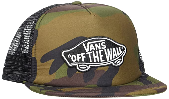8c4930b53ad Vans Men s Classic Patch Trucker Baseball Cap Blue  Amazon.co.uk ...