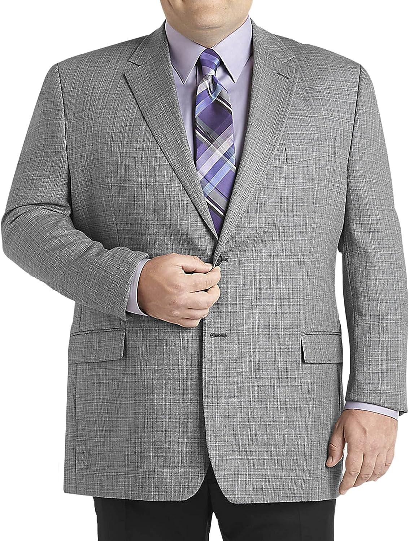 Ralph Lauren Classic Fit Light Gray Textured Two Button Blazer Sportcoat