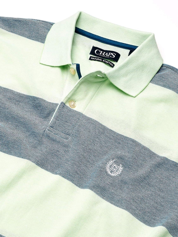 Chaps Mens Classic Fit Cotton Pique Polo Shirt: Amazon.es: Ropa y ...
