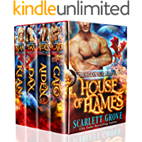 House of Flames Boxed Set: Dragon Guardians