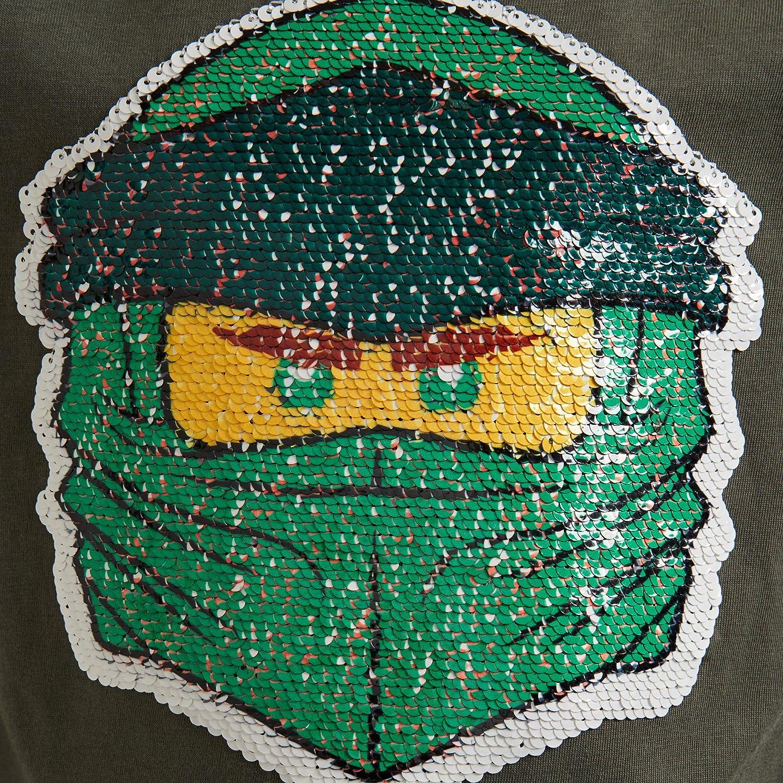 LEGO Ninjago Cm mit Wendepailletten Maglietta a Maniche Lunghe Bambino