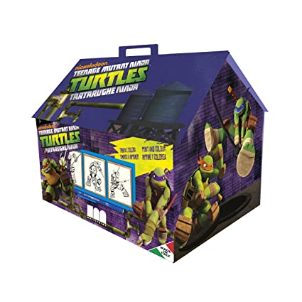 Amazon.com: Multiprint Turtles Tiny House Stampers: Toys & Games