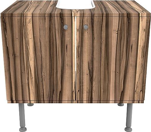 Meuble Sous Vasque Design Arariba 60x55x35cm Petit 60 Cm De Large Reglable Table De Lavabo Armoire De Lavabo Lavabo Meuble Bas Baignoire Salle De Bains Armoire De Salle Bains Amazon Fr Cuisine