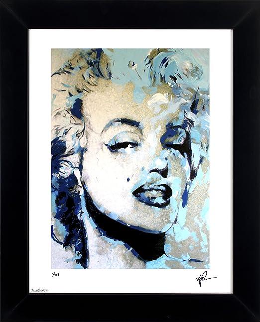 Amazon.com: Marilyn Monroe Art Print Abstract Modern Artwork