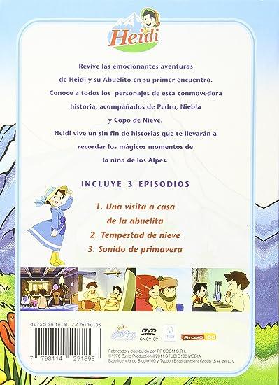 Vol. 4-Heidi-Una Nueva Idea Edizione: Argentina USA DVD: Amazon.es: Cine y Series TV