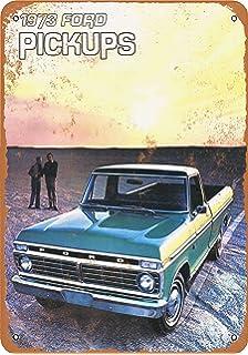Vintage Chevy El Camino 1975 Advertisement Poster Man Cave Gift Art Decor