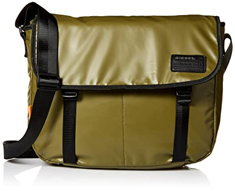 d81f8c994c3249 Diesel Men's Discover Messenger Bag, olive drab One Size: Amazon.ca:  Clothing & Accessories