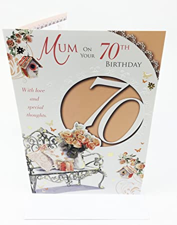 Mums 70th birthday card large greeting card for mum amazon mums 70th birthday card large greeting card for mum bookmarktalkfo Choice Image