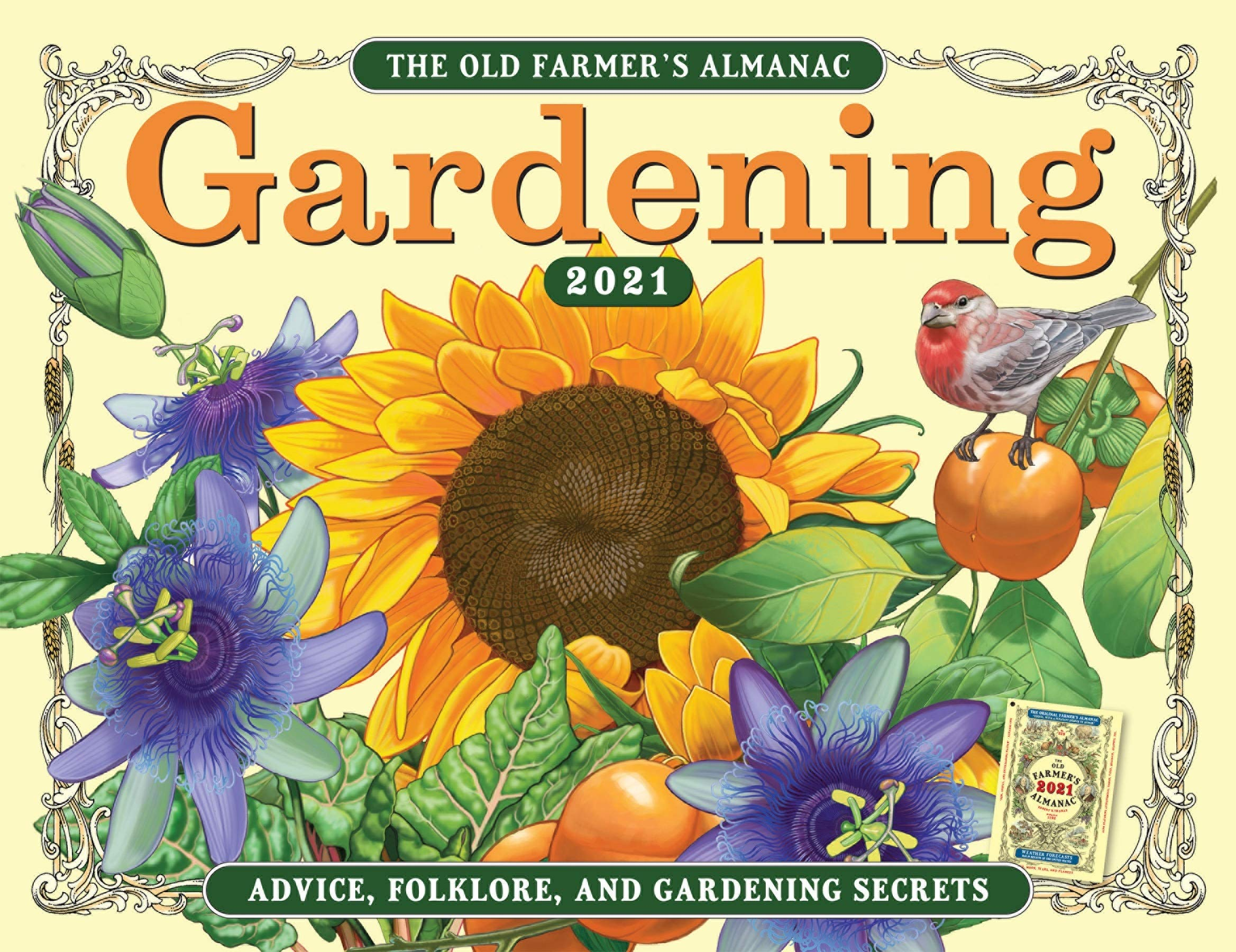 Farmers Almanac Calendar 2021 The 2021 Old Farmer's Almanac Gardening Calendar: Old Farmer's