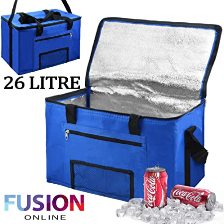 aea1b58611ed Extra Large 26L Cooler Cool Bag Box Picnic Camping Food Drink Lunch  Festival Ice