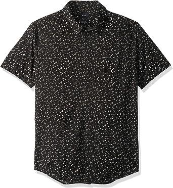 RVCA Camisa de botones con alfileres y agujas para hombre: Amazon.es: Ropa y accesorios
