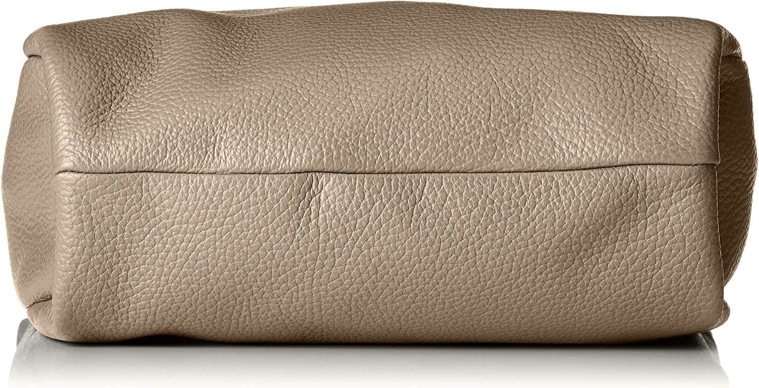 Mandarina Duck Women's Mellow Leather Tracolla Cross-Body Bag Beige (Simply Taupe)
